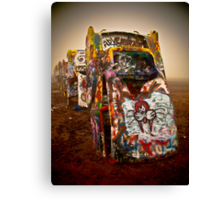 Cadillac Ranch - Texas  Canvas Print