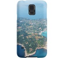 Antibes, Southern France - Areal view Samsung Galaxy Case/Skin