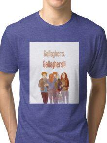 gallaghers. gallaghers!! Tri-blend T-Shirt