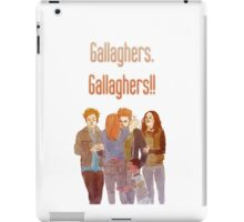 gallaghers. gallaghers!! iPad Case/Skin