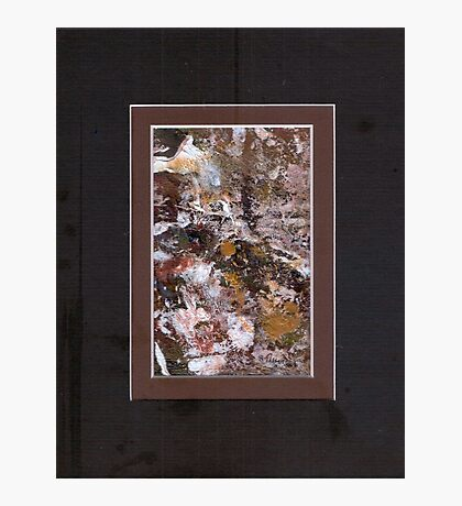 ABSTRACT SNOW SCENE Photographic Print