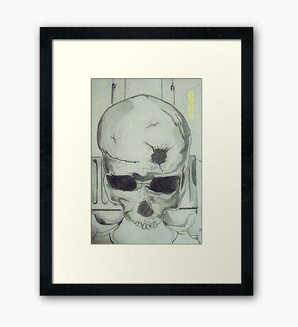 x-box Gun Framed Print
