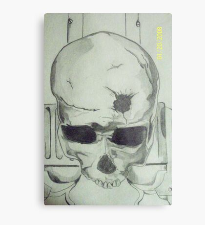 x-box Gun Metal Print