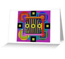 Simple Equalibrium Greeting Card