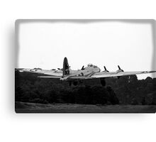 B-17 WWII Day Canvas Print