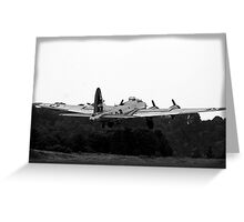 B-17 WWII Day Greeting Card