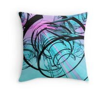 Plasma Guidance System Throw Pillow