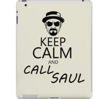 Keep Calm And Call Saul iPad Case/Skin