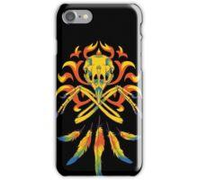 Phoenix Crossbones iPhone Case/Skin