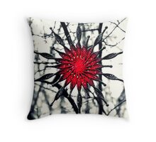 Starry Christmas Throw Pillow