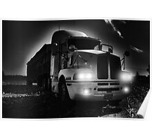 BIG OLD FARM TRUCK Poster