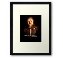 Lord Eddard Stark Framed Print