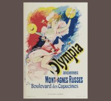 Les Affiches Illustrees 1886 1895 Ouvrage Orne de 64 Ernest Maindron Jules Cheret 1896 0255 Olympia Baby Tee