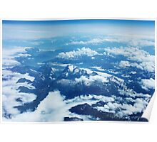 View on Mont Blanc Poster
