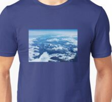 View on Mont Blanc Unisex T-Shirt