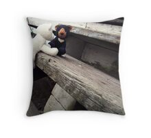 Climbing the Stairs Throw Pillow