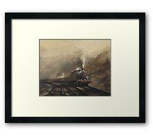 South Wales coal train Framed Print
