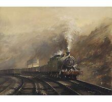 South Wales coal train Photographic Print