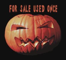 For sale second hand  pumpkin tee design Kids Tee