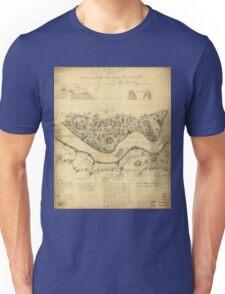 Original West Point Survey Map October 24th-27th 1783 Unisex T-Shirt
