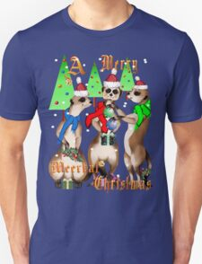 Merry Meerkat Christmas Shirt T-Shirt