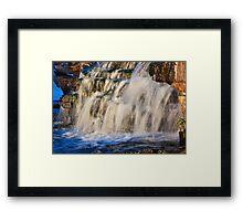 Almonte Waterfalls (11) Framed Print