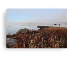 Early Morning Mist - Kezar Pond Canvas Print