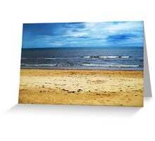 Beach Sea Landscape Greeting Card