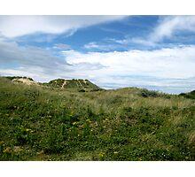 Grass & Hills Landscape Photographic Print