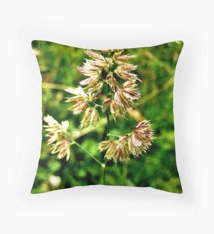 Pretty Plant Throw Pillow
