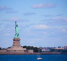 The Statue of Liberty  by Josef Pittner