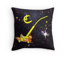 When You Wish Sat On a Star - pillow & tote design, etc Throw Pillow