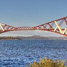 Rail Bridge and Harbour by Tom Gomez