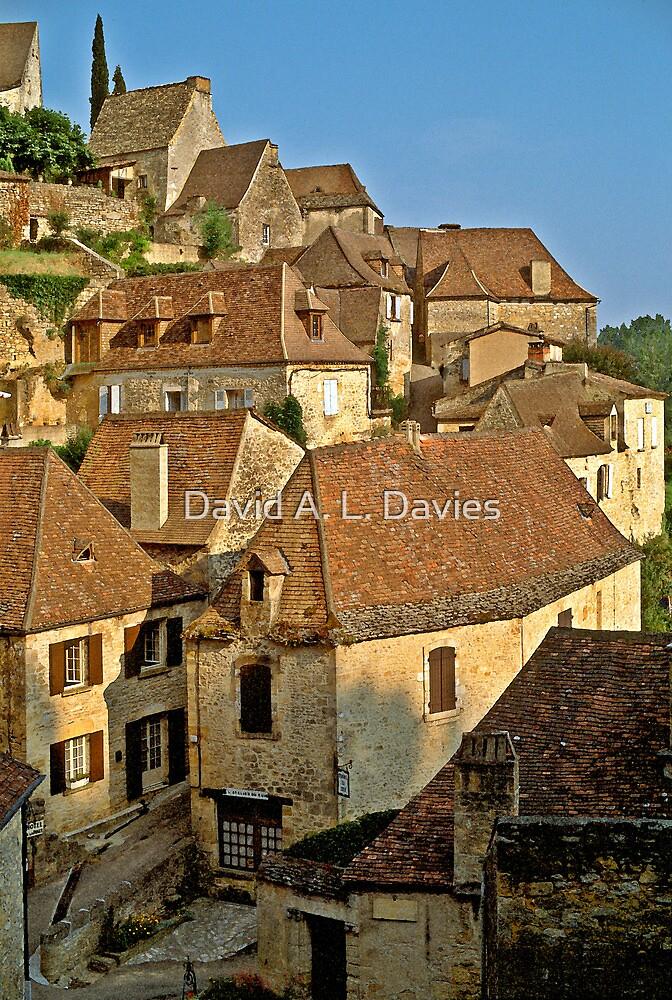 Beynac, Dordogne, France, 1980's by David A. L. Davies
