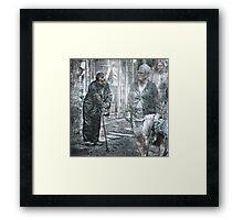 """The ignored..."" Framed Print"