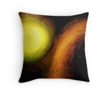 Between Perfection and Corruption. Throw Pillow