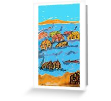 coming to a beach near to you...... Greeting Card