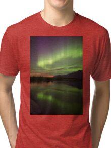 Aurora Borealis Reflections Tri-blend T-Shirt