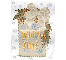 A Sparkling Merry Christmas Poster