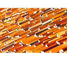 Tile Roof Abstract Photographic Print