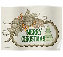 A Merry Christmas Poster