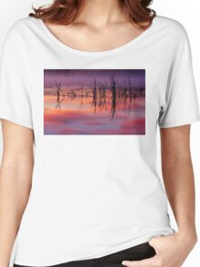 Sunrise Reflection Women's Relaxed Fit T-Shirt