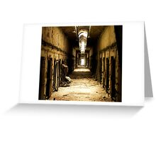 Wailing Walls Greeting Card