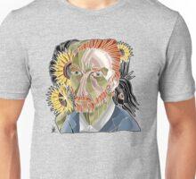 van gogh with crow Unisex T-Shirt