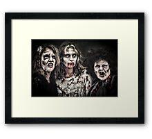 Thrill around the world Framed Print