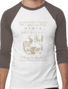 Monster Hunter Required - Diablos Men's Baseball ¾ T-Shirt