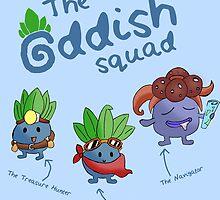 The Oddish Squad (Featuring Captain Oddish) by Daniel Bonney