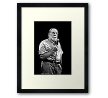 Neil Abercrombie, Governor Of Hawaii Framed Print