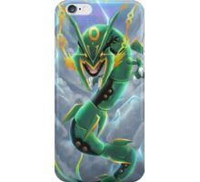 Rayquaza in the Sky iPhone Case/Skin
