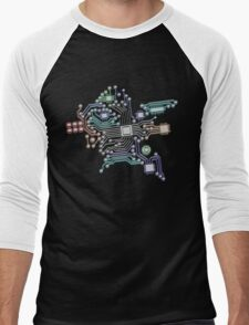 circuit board Men's Baseball ¾ T-Shirt